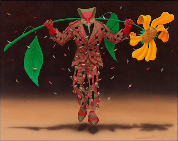 Big Flower / A Flor Amarela