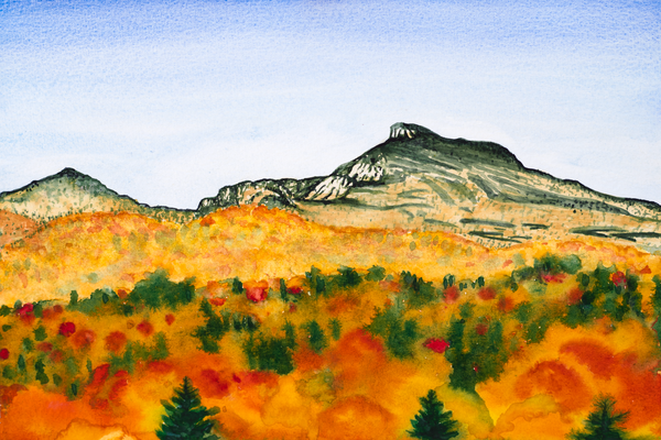 'Camel's Hump October' - Art for Sale.