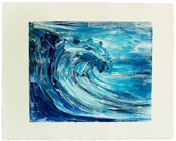 Blue Wave III - Monotype
