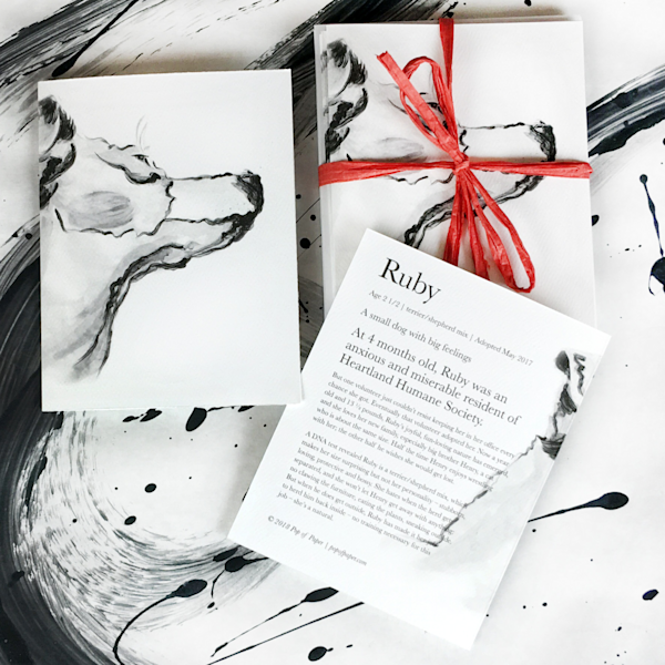 Ruby: Note Cards | Youngi-Sumistyle pets