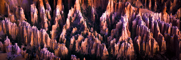 Fine Art Print | Bryce Canyon Pastel Colored Hoodoos
