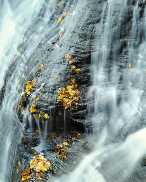 Fine Art Print | Intimate Landscape of Buttermilk Falls
