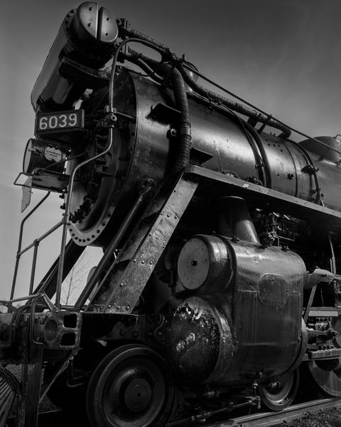 Fine Art Print  | Train Engine 6039