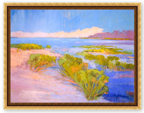 Beach Painting for Coastal Home by Dorothy Fagan