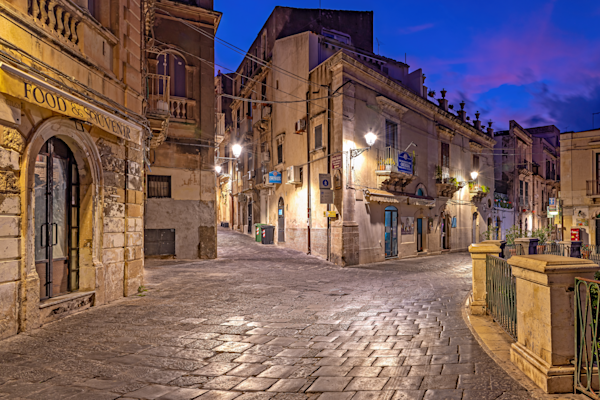 historical center of Syracuse, Sicily, Italy, Ancient Greek Historical Center