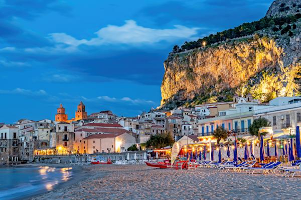 Coastal City, Sicily, 12th-century fortress, Greek Foundation, Italy