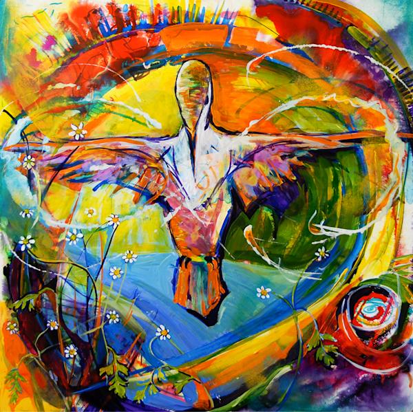Hummingbird Mother Art | Emily Tanaka - Have to Create