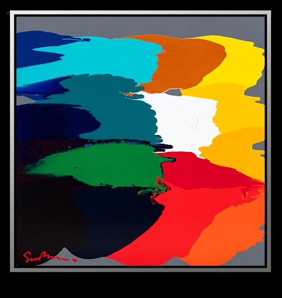 "Simon Bull Available Original Painting - ""Again and Again"""