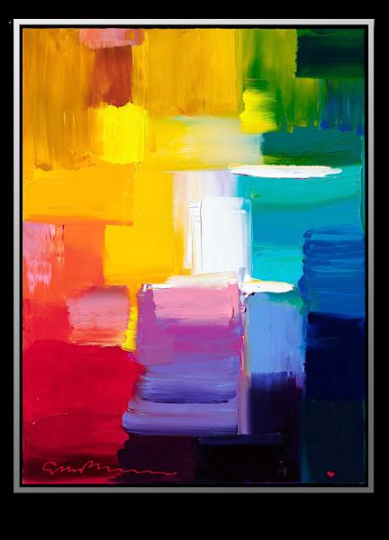 "Simon Bull Available Original Painting - ""The City"""