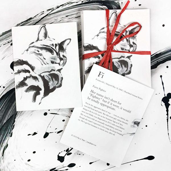 Fi: Note Cards Art | popofpaper