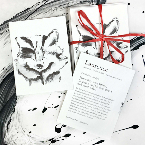 Laurence: note cards