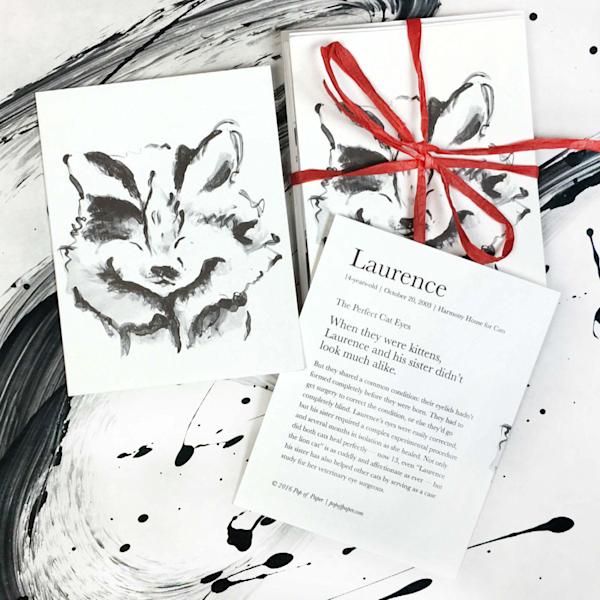 Laurence: Note Cards Art | popofpaper
