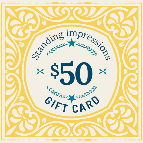 Standing Impressions $50 Gift Card