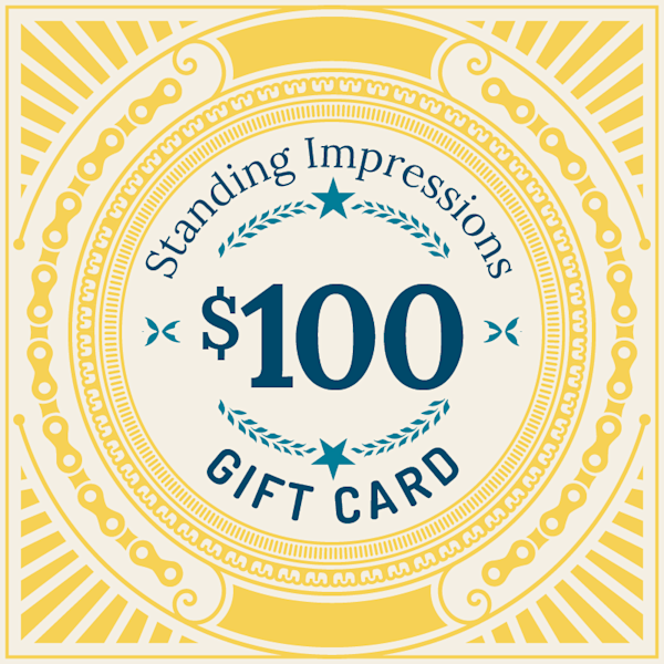 Standing Impressions $100 Gift Card
