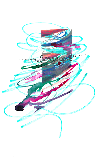 Horizon Dissolve Art   Emily Tanaka - Have to Create