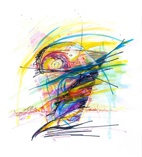 Glass Half Full Art | Emily Tanaka - Have to Create