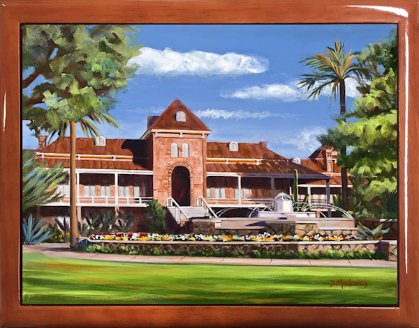 Wooden Keepsake Box | Southwest Gifts | Fountain at Old Main