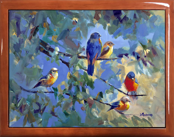 Wooden Keepsake Box | Southwest Gifts | Five Birds
