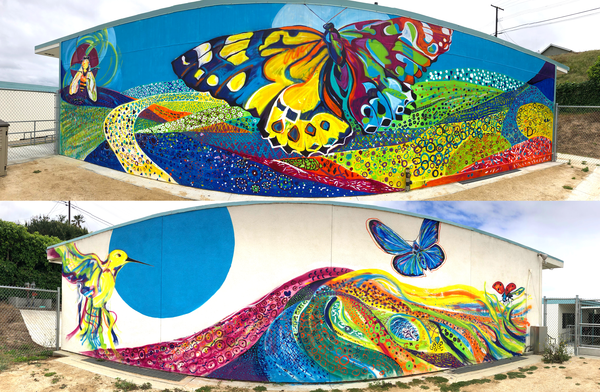 Learning Garden Murals Art | Emily Tanaka - Have to Create