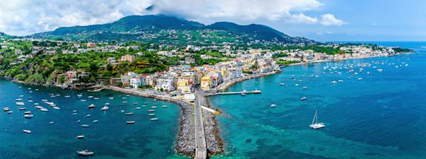 volcanic island, Bay of Naples, Phlegrean Island, Ischia, Italy