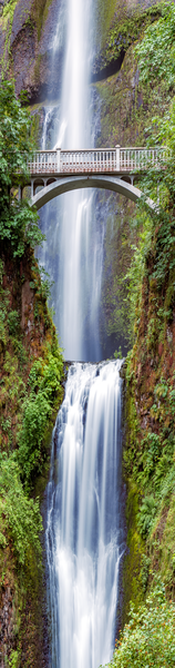 Portland, Multnomah Creek, Columbia River Gorge, Multnomah Falls Lodge, Oregon