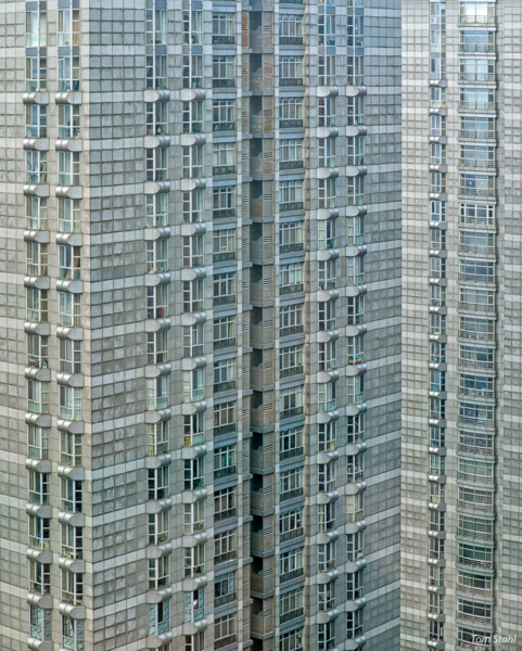 Beijing apartment building, 2018.