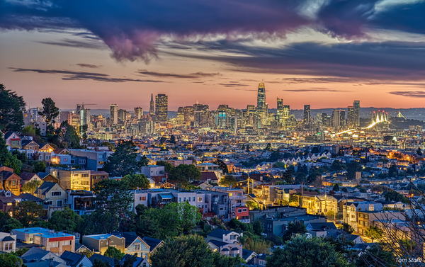 San Francisco skyline, 2019.