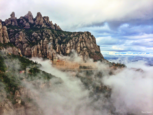 Montserrat, Spain, 2014. Photography Art | Tom Stahl Photography