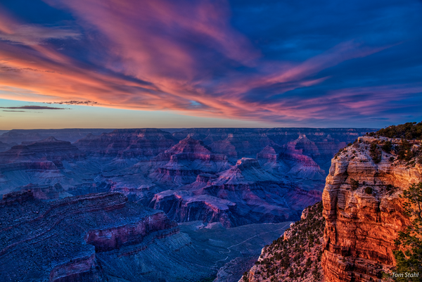 South Rim sunset, 2019.