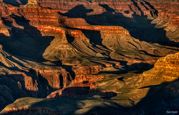 Grand Canyon shadows, 2019.