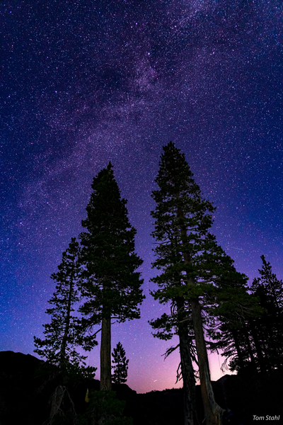 Milky Way, Tahoe National Forest, 2019.