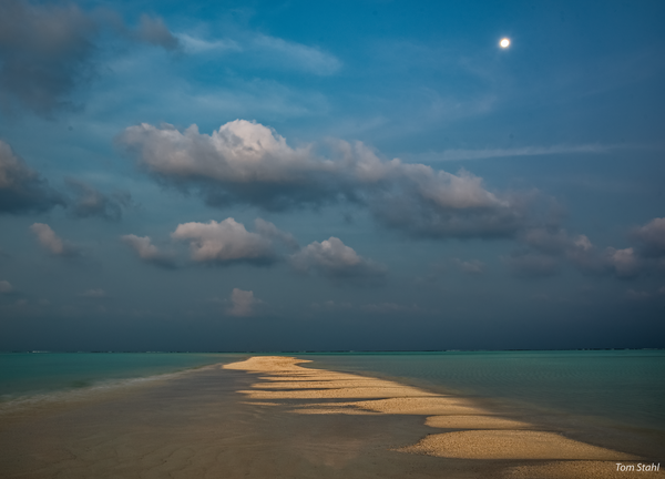 Maldives Sandbar, 2016. Photography Art | Tom Stahl Photography