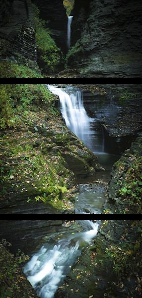Fine Art Multi-Panel Print of Cascade Falls