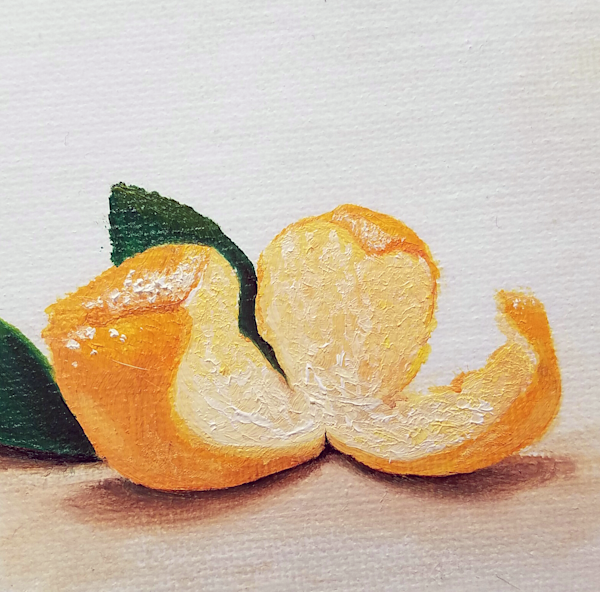 Mikan Peeled Art | Alice MC