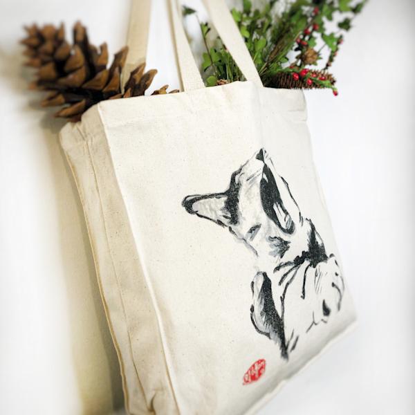 tote bag, cat bag, canvas bag, bag