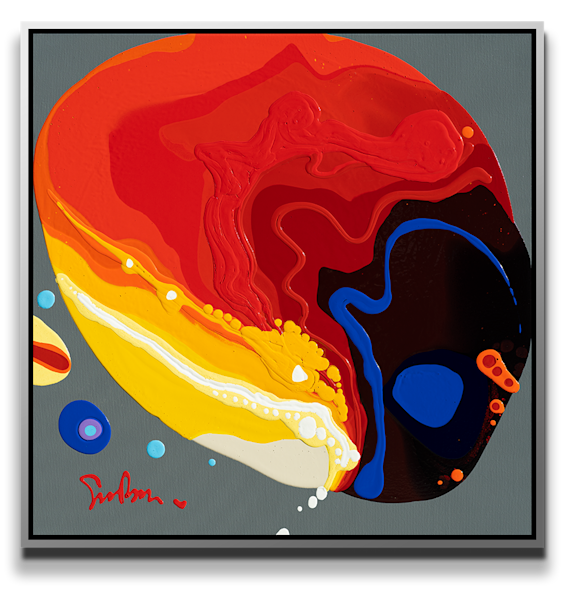 "Simon Bull Available Original Painting - ""Heat"""