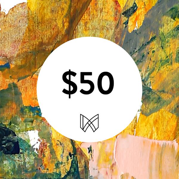 $50 Gift Card | Megh Knappenberger Art, LLC