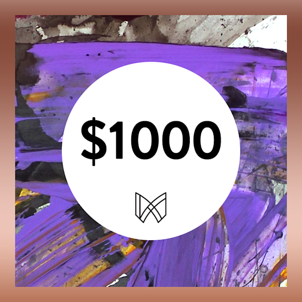 $1000 Gift Card | Megh Knappenberger Art, LLC