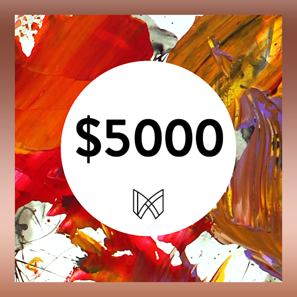 $5000 Gift Card | Megh Knappenberger Art, LLC