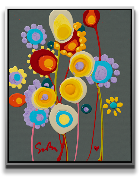Almost Floral [Sold] Art | MEUSE Gallery
