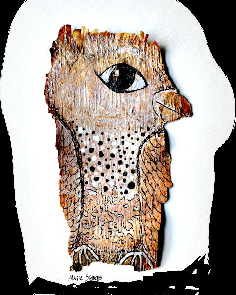Bashful Bird Art | Marie Stephens Art