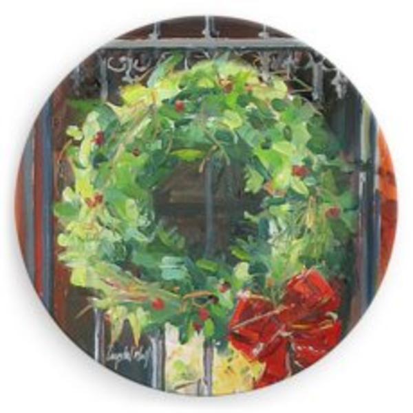 "Wreath Plate 6"""