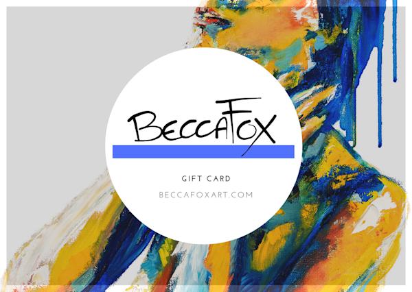 $50 Gift Card | Becca Fox Art