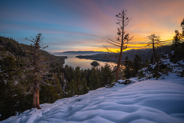 The Light Between the Storms  I Lake Tahoe Landscape Photography I David N. Braun