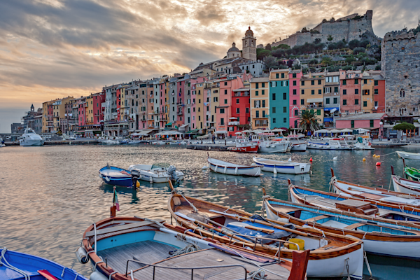 Ligurian Sea, World Heritage Site,  Ligurian Republic, Kingdom of Italy, Portovenere