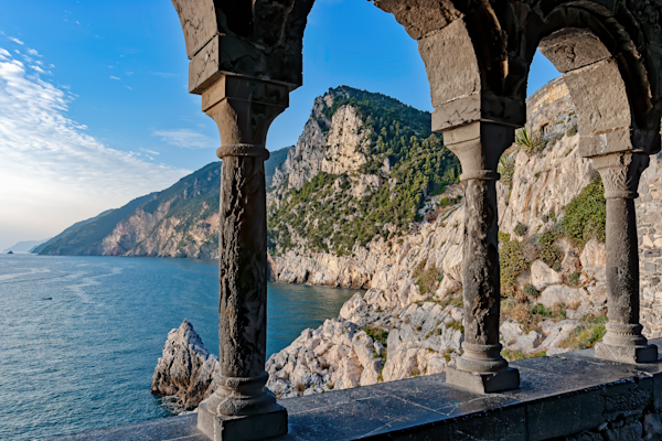 Church of St. Peter, Roman Catholic Church,  Gulf of Poets, province of La Spezia, Portovenere, Italy