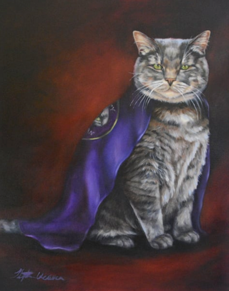 "16x20"" Custom Oil Single Pet Portrait"