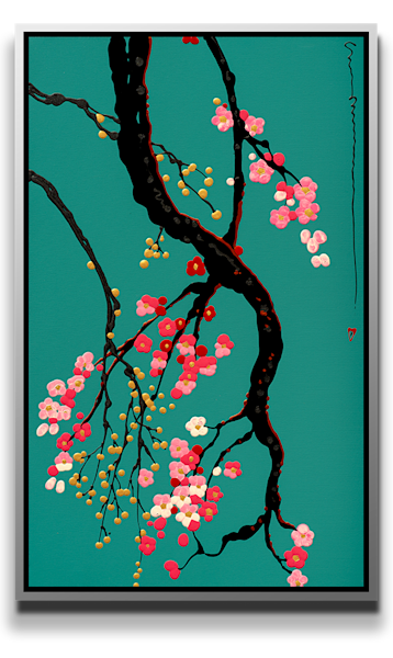 Buds + Blossom [Sold] Art | MEUSE Gallery