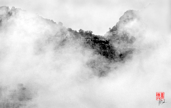 Sedona in Clouds