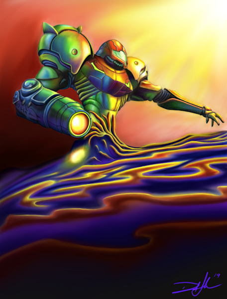 Samus in Phazon